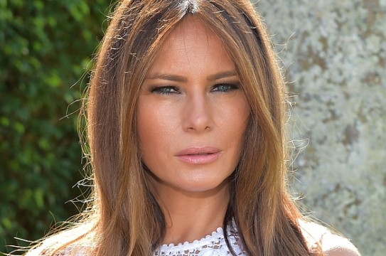 PALM BEACH, FL - JANUARY 04:  Melania Trump attends Trump Invitational Grand Prix Mar-a-Lago Club at The Mar-a-Largo Club on January 4, 2015 in Palm Beach, Florida.  (Photo by Gustavo Caballero/Getty Images)